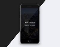 Ananda IR App Concept Design