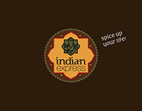 Indian Express Logo & Branding