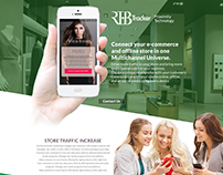 RTB Tracker - Proximity Marketing - landing page