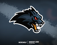 Werewolf MASCOT LOGO