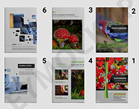 Zoo Photography a4 Brochure Template