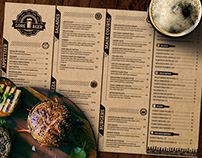 Lore Beer Pub Menu