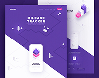 Mileage Tracker - Website & Application Design