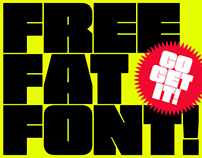 FREE FAT FONT!!!