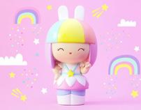 Momiji | Birthday Bunny Doll