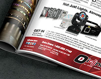 Magazine Advertisement Campaign for I DJ NOW