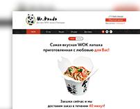 Landing page for Mr.Panda WOK seller