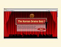 Website Design - Korean Drama Quiz
