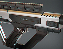 """NORTH"" PCP rifle semi-automatic"