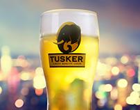 Tusker Lager January 2017 Social Media Art