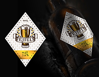 """Éjfél"" beer packaging"