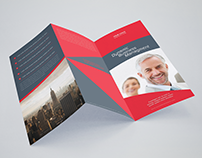 A4 Corporate Brochure Template Design