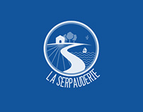 La Serpauderie band identity + website