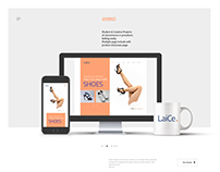 Laice Shoes Web Ui Design Projects
