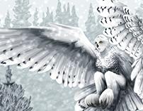 Snowy Owl Harpy