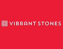 Vibrant Stones logo design