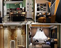 Luxury modern Apartment at Mountain view Newcairo