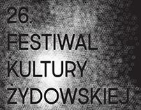 Redesign concept for Jewish Culture Festival in Cracow