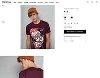 Flowers t-shirts / Bershka Man