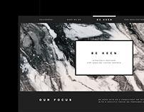 BE KEEN Website