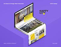 Happy city - Real Estate Concept