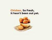 Social Media Posts | Chicken Ads