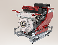 Kube Pompa 3D Modelling