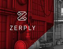 Zerply Website Branding