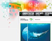 Site internet de la Commune de Lancy 2011-2018