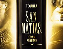 Tequila San Matías Gran Reserva.