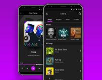 Dailyui 009, Music Player App