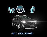 İnteractive Hologram for New Kia Sorento