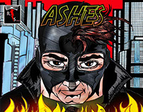 ''Ashes'' Comics Book Cover Page
