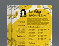 Resume CV/Creative Concept Design