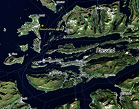 Ålesund — Digital terrain 3D model
