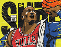 Foot Locker's Illustrated Tribute to Michael Jordan