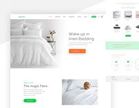 E-commerce Multipage Web Template