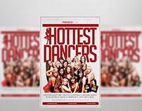 Hottest Dancer Flyer Template