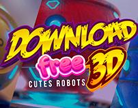 DOWNLOAD FREE BOTS 3D Oscar Creativo