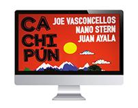 Cachipún: Joe Vasconcellos, Nano Stern y Juan Ayala