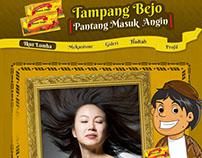 """Bintang Toedjoe """"Tampang Bejo"""" - FB app"""