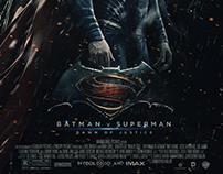 """Batman vs Superman : Dawn of Justice"" / fan art poster"