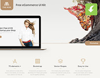 Rise Free eCommerce UI Kit (freebie)