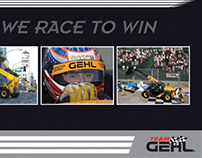 GEHL Corporation Racing Sponsorship Brochure