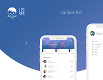 Curious Kid | Mobile Application