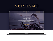 Veritamo Luxury Network Website