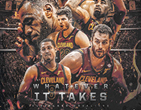NBA Art | Cleveland Cavaliers | Whatever It Takes