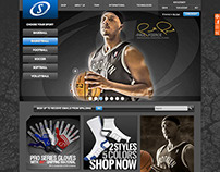 Spalding E-Commerce Web Site Design