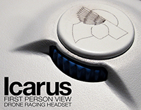 Icarus - First Person View Drone Racing Headset
