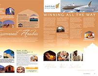 Gulf Air - Trailfinders Magazine Page